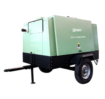 chinese cheap price of portable diesel screw air compressoor