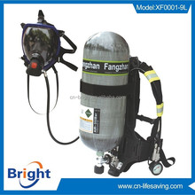 Certified 60 mins self-contained air breathing apparatus, firefighting equipment, scba factory
