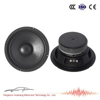 6.5' Mid bass WS-655M 25mm ASV voice coil bass speaker mid bass system the best mid range speakers for cars