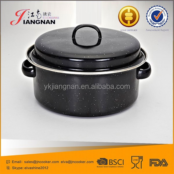 Well Equipped Kitchen Cookware Enameled Grill Pan