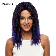 Noble gold synthetic hair long length beautiful crochet hair fashion mix color synthetic hair wig