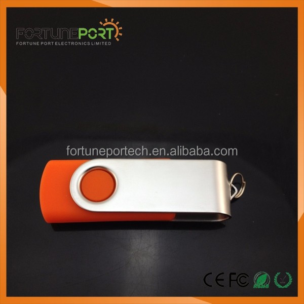 Famous for Long Term Business Gift Supplier Swivel USB Flash Drives Bulk 16gb 32gb 64gb 128gb with Your Brand Logo