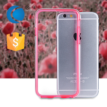 Ultra Thin crystal Soft TPU mobile phone cover for iphone 6s back cover