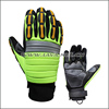 Professional Oil Impact Safety Gloves Of Lava