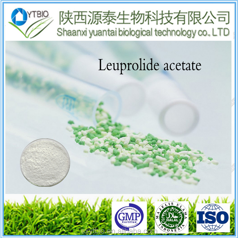 best price Anti-cancer drug Leuprolide acetate with reasonable price CAS#74381-53-6