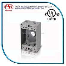 Hot Aluminum outlet box