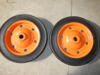"13""x3"" low price solid rubber wheel for wheelbarrow WB3800"