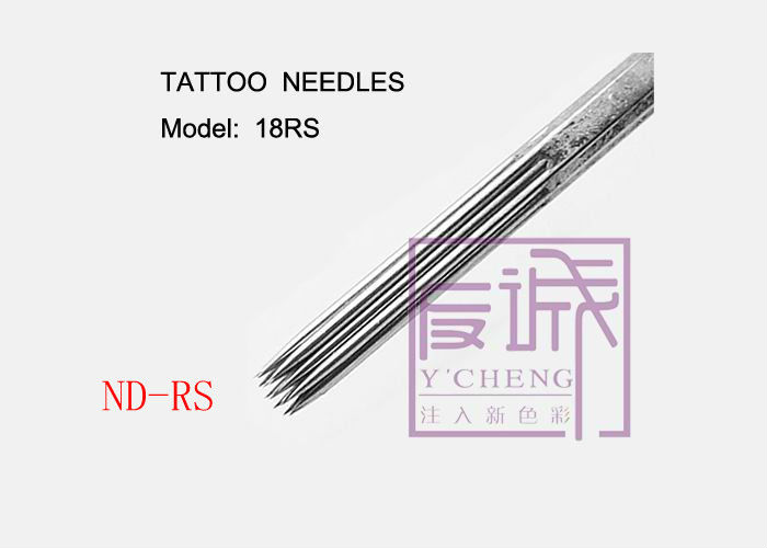 Pre-made Sterile Tattoo Needles, On Bar/Round Shading needles