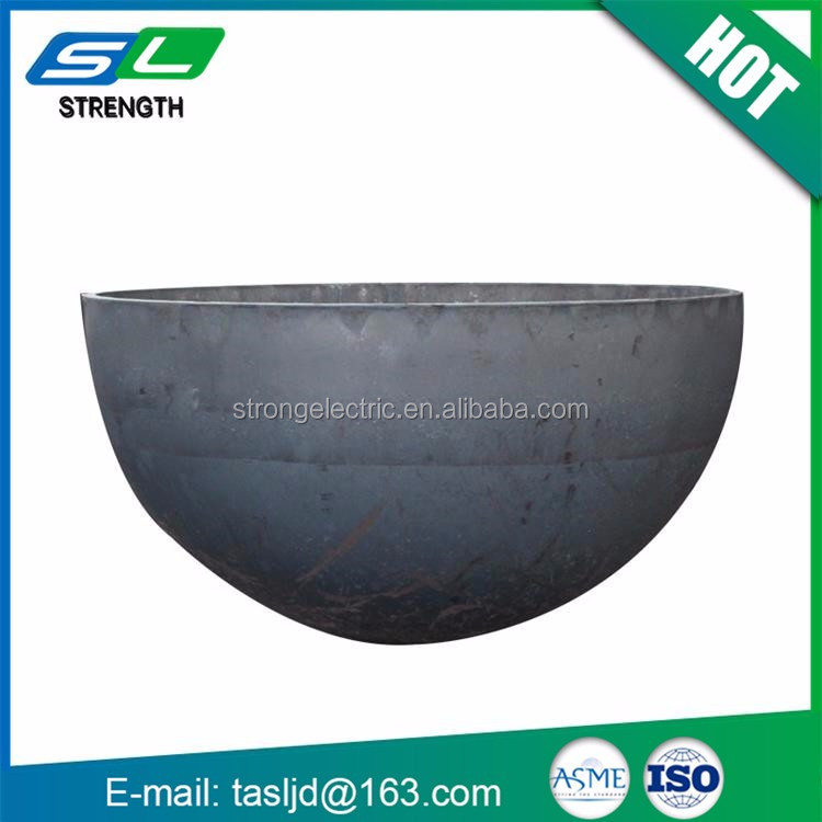 China high quality large composite professional design torispherical dished head ends