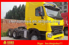 HOWO A7 Tractor Truck China National Heavy Duty Truck Corporation