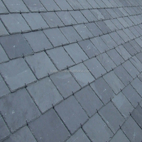 Natutral black color slate stone roof tiles for remodeling roof coverings, customized roof types