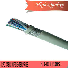 Professional rj11 rj12 4 wire adsl telephone 6p4c male to female extension cable 2m with high quality
