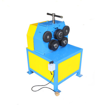 Electric Profile Section Pipe Tube Angle Iron Bender H Channel Rolling Machine