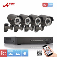 ANRAN 1080P PoE NVR Kit Camera POE Security Cameras outdoor