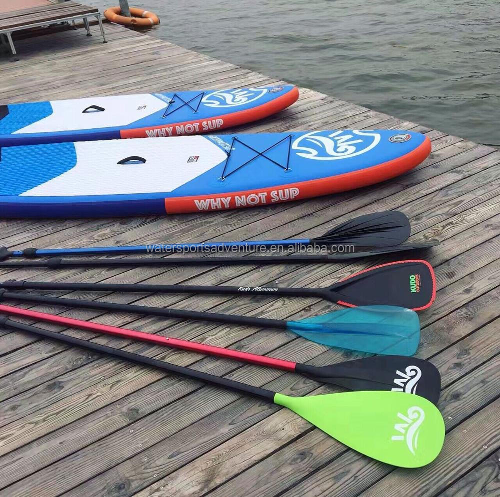 Kudo factory made large inflatable stand up sup paddle board for surfing race