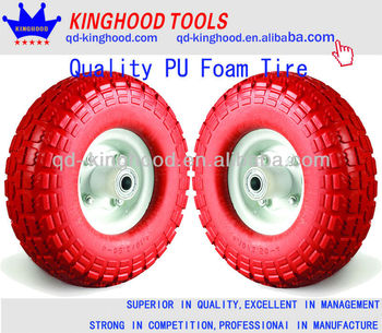 Pu foam Wheel 3.50-4