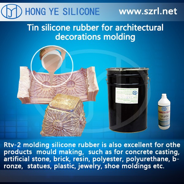 good quality rtv-2 liquid molding silicone rubber made in China