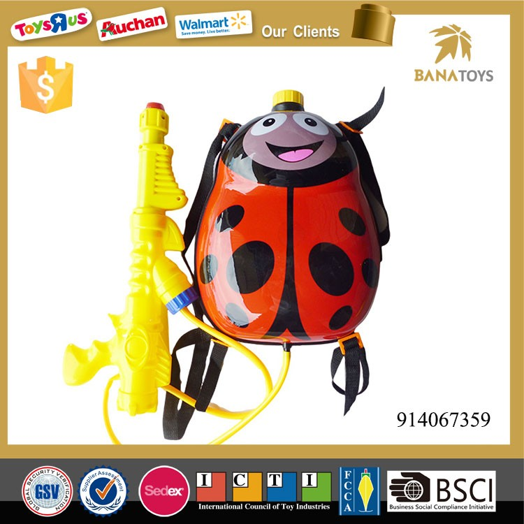 Water toy backpack water gun for kids