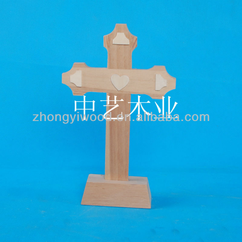 cheap standing wooden crosses