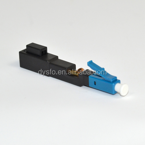 Fiber optic LC/UPC fast connector