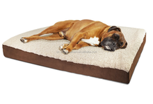 Hot selling products customized memory foam pet product luxury non slip orthopedic dog bed