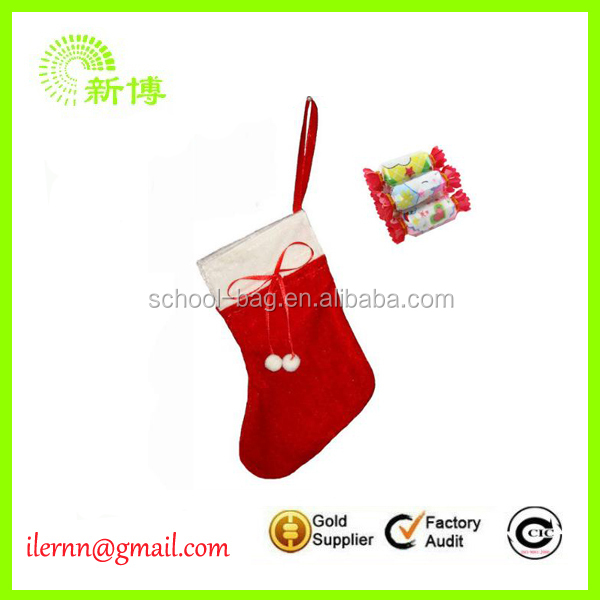 Cheap christmas gift bag stocking