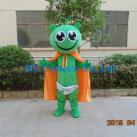 Hot sale free shipping adult movies costume cartoon frog costume