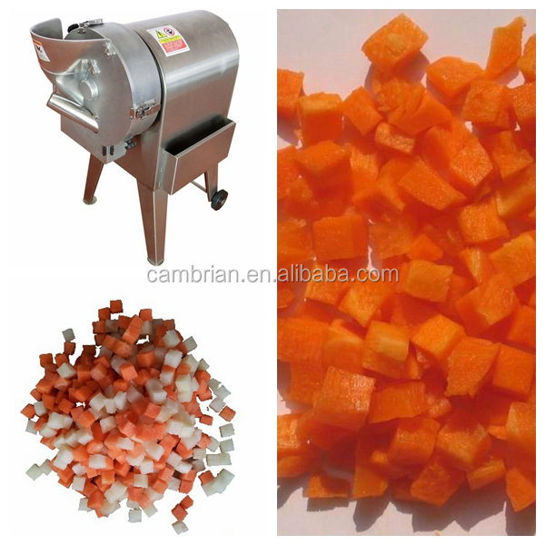 Fruit vegetable slicing and dicing machine with good quality