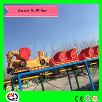 Amusement parks!!!outdoor playground equipment train set roller coaster toy for sale