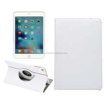 Popular Style 7.9inch Tablet Case for iPad Mini 4 Rotation Kickstand PU Leather Case