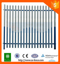 Used Wood Fencing for Sale/Clear Panel Fence Panels/Second Hand Palisade Fencing for Sale