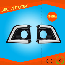 Cheap price hot sell waterproofing 12V for toyota corolla flexible led drl/ daytime running light
