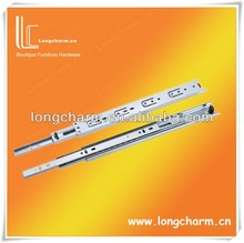 3 fold telescopic full extension ball bearing drawer/cabinet slide