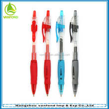 Promotional cheap best writing plastic advertising ball pen