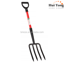 HTXL single piece fiberglass Handle farm tools fork