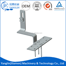 High quality stainless steel tile roof hook for PV solar power system homes
