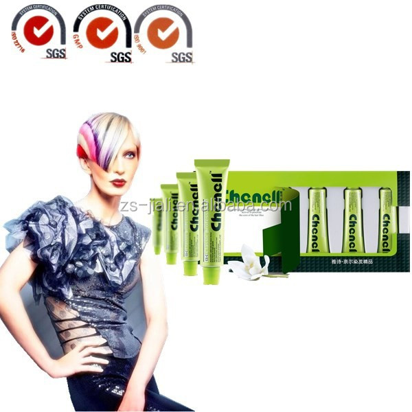 GMP Manufacturer No Ammonia No Peroxide Hair Color