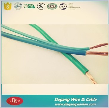 electric house wire 450 / 750V cu pvc single core cable
