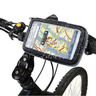 Bike Mount & Waterproof Touch Case for Samsung Galaxy Note / i9220 / N7000, Note II / N7100 , Note III / N9000