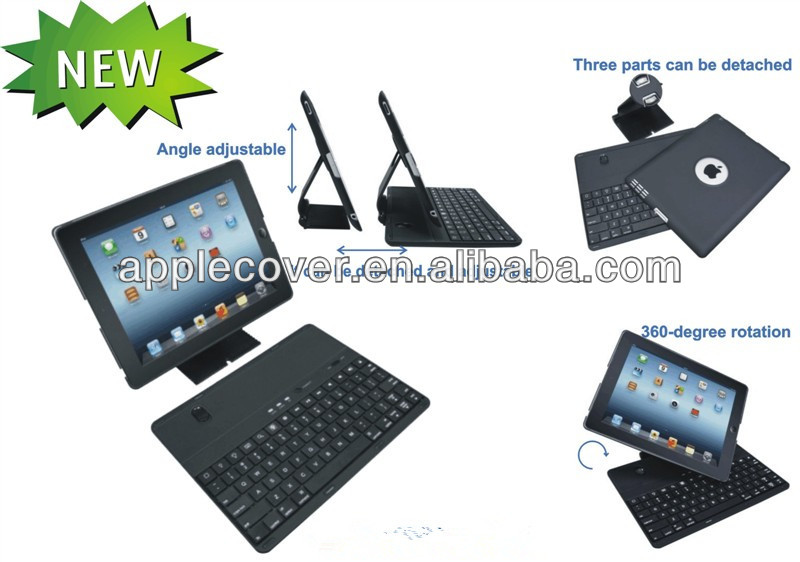 For Apple iPad 2 3 4 Keyboard Case
