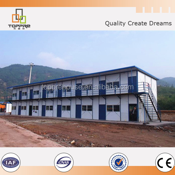Fast assembling prefabricated house modular home made in China for Africa