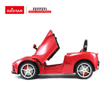 Rastar new products battery operated Ferrari big red ride on car for kids