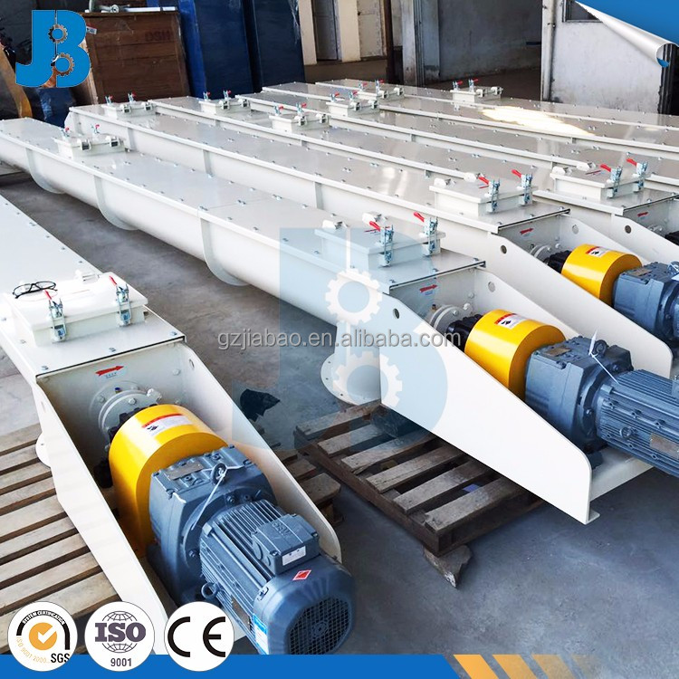 Large transmission capacity cement industry u type auger screw conveyor