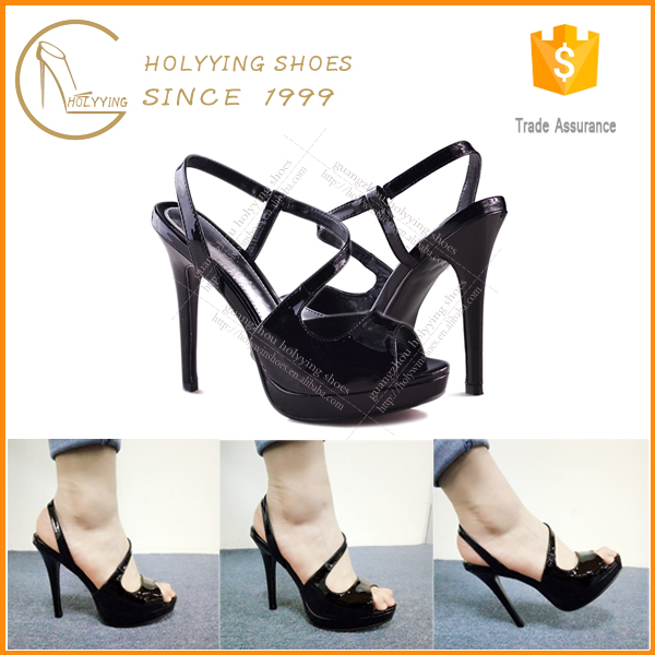 Cheap price cross strap footwear mid-heel sandal new design ladies summer high heel sandals