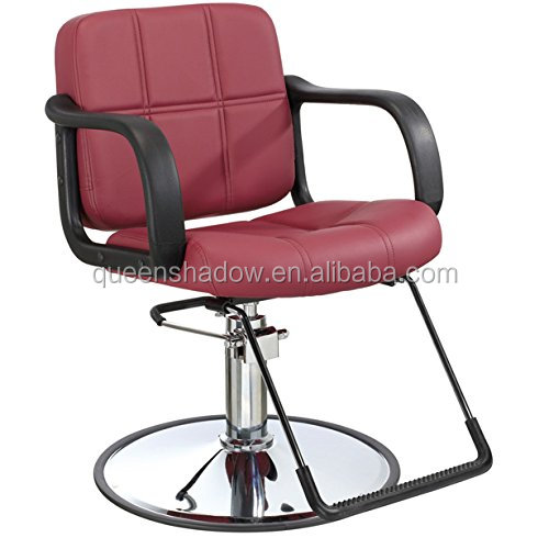 kingshadow wholesale all black rotate chair barber chairs salon equipment with star base