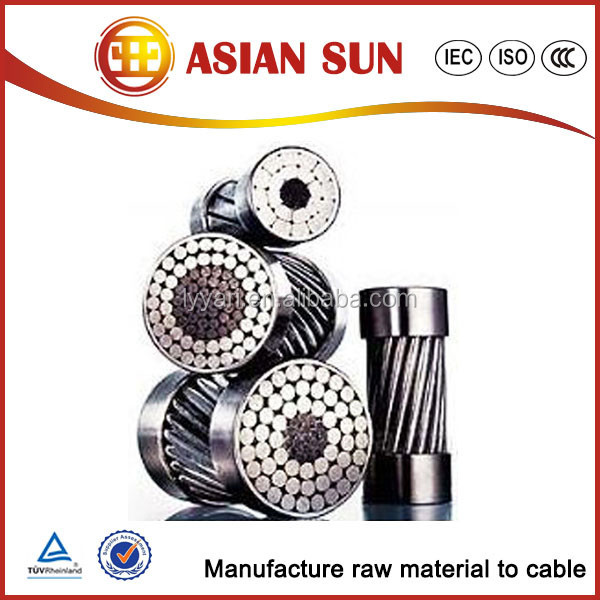 Aerial Transmission Line Aluminum Conductor Steel Reinforced 12v dc power cable