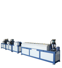 machine/duct line/high efficiency hvac duct machine angle steel flange automatic production line