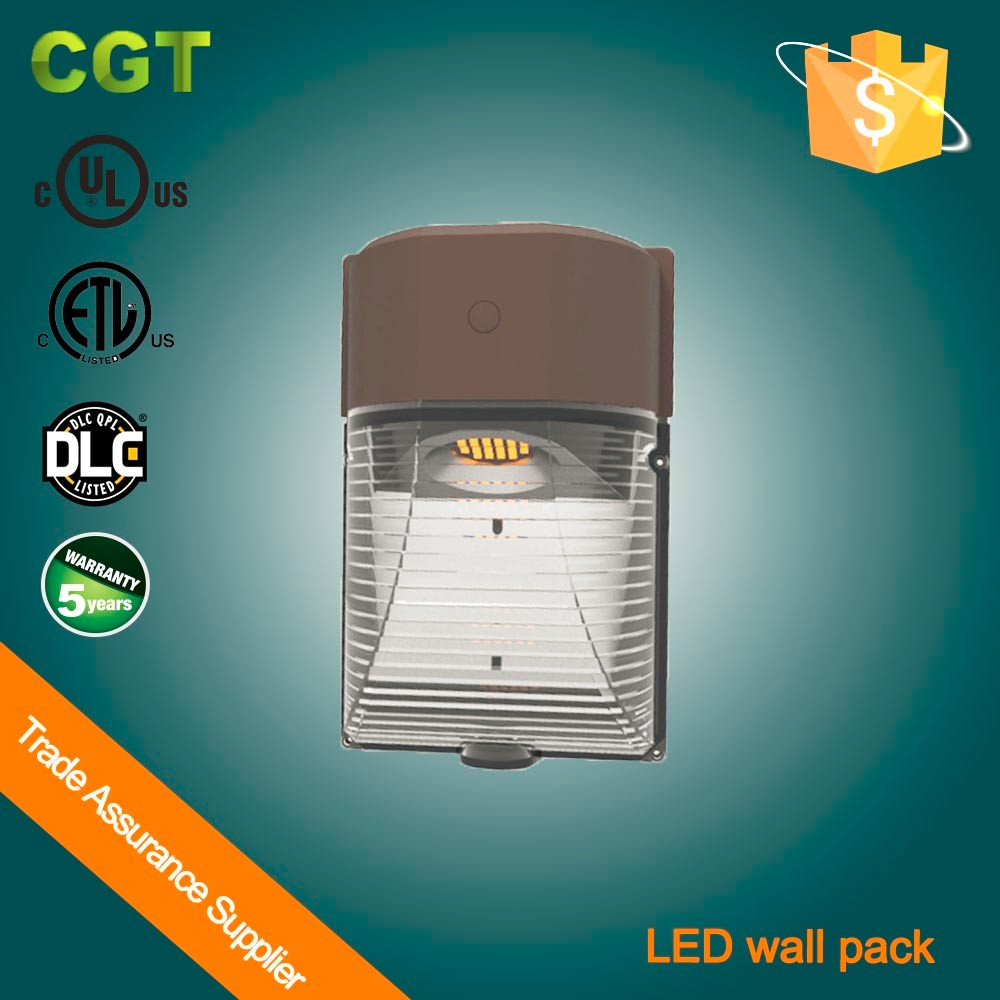 exterior led wall lighting ETL DLC Wall pack light Mini door wall lighting