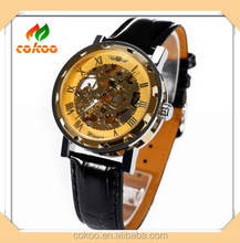 Newest High water resistant Silicone watch,watch gift set make custom skeleton watch OEM