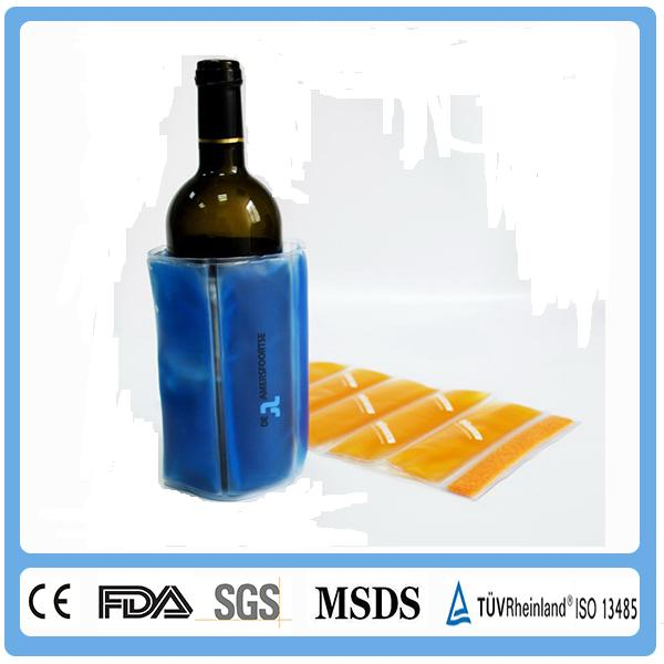 New design Eco-Friendly Boat Stocked Wine Cooler Portable Electric Wine Cooler/PVC Wine Cooler Bag